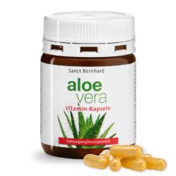 Изглед на опаковката на продукта Алое Вера + Витамини , Aloe Vera Vitamin Kapseln