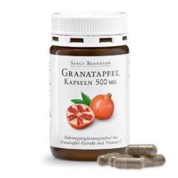 Изглед на опаковката на продукта Granatapfel-Kapseln 500 mg, Нар капсули 500 мг