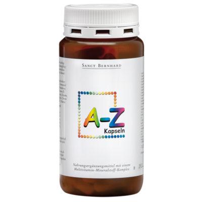 Мултивитамини и минерали A - Z, 150 капсули Sanct Bernhard