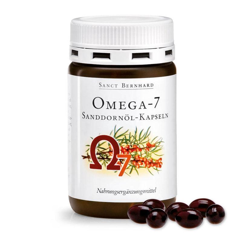 """Изглед на опаковката на продукта """"Omega 7 Sea Buckthorn Oil, ОМЕГА-7 масло от облепиха"""""""