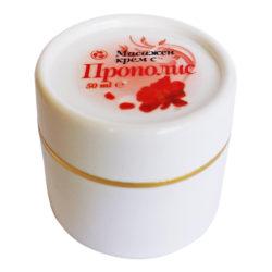 """Изглед на опаковката на продукта """"Масажен крем с прополис"""""""
