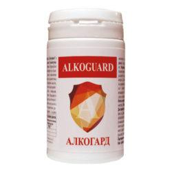 Изглед на опаковката на продукта Алкогард Alkoguard
