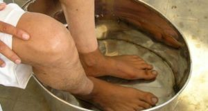 бани на краката