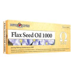 Опаковка на продукта Масло от ленено семе, Flax Seed Oil