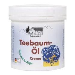 Изглед на опаковката на продукта КРЕМ С МАСЛО ОТ ЧАЕНО ДЪРВО, Teebaum-Öl Creme