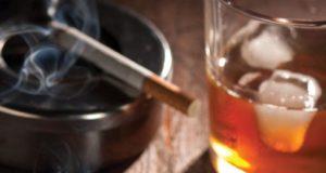 алкохол и цигари