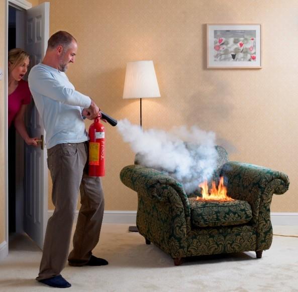 Пожарогасителят ви спасява при инциденти