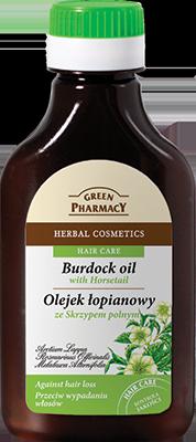 билково масло за скалп с репей
