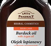 билково масло за скалп с репей и арганово масло