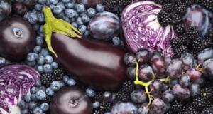 лилави плодове и зеленчуци