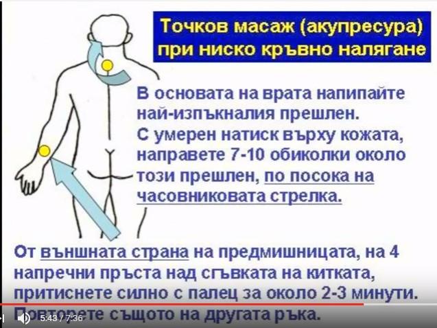 5 съвета на д-р Биволарски при ниско кръвно налягане