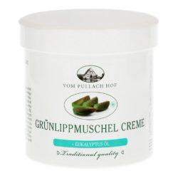 Изглед на опаковката на продукта Крем със зеленоуста мида, grünlippmuschel