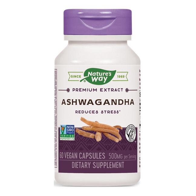 """Изглед на опаковката на продукта """"Ашваганда(Ashwagandha)"""""""