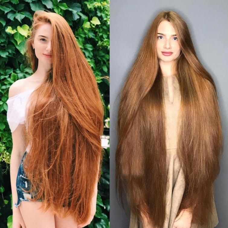 Анастасия Сидорова коса