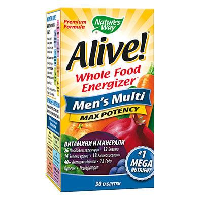 Алайв мултивитамини за мъже