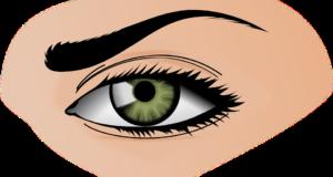 зоната около очите