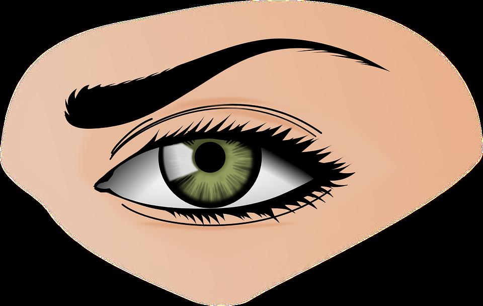 область вокруг глаз