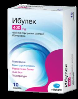 ИБУЛЕК 400 mg