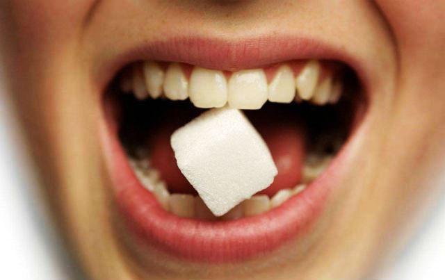 сладък вкус в устата