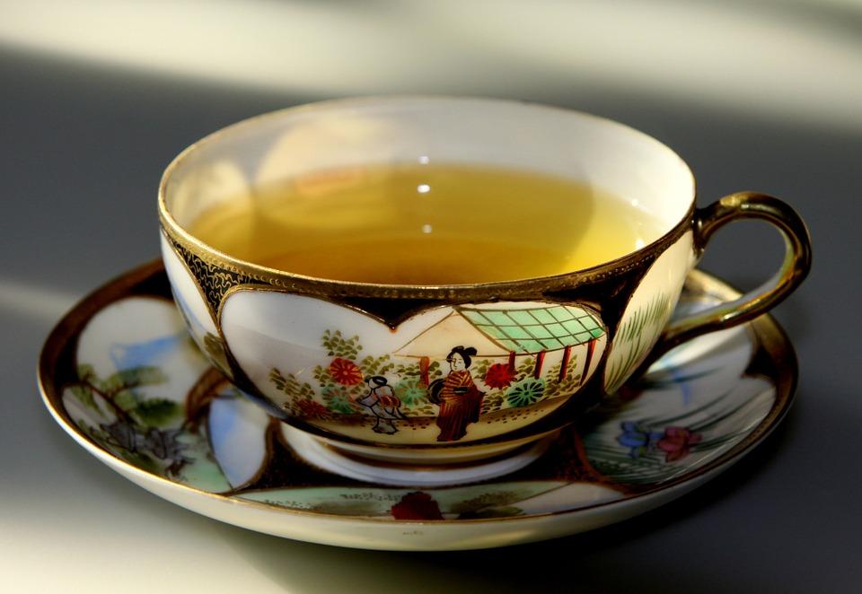 зелен чай отслабване