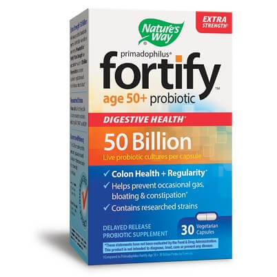 Примадофилус Fortify™Пробиотик за възрастни 50+