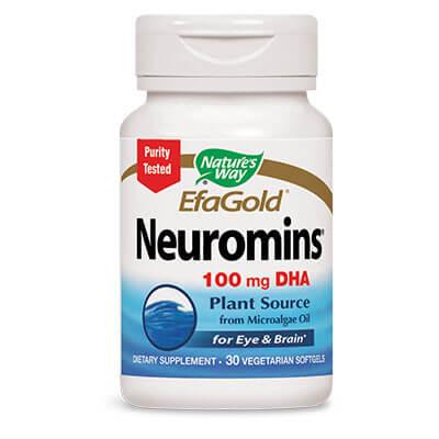 Неуроминс DHA от морски водорасли