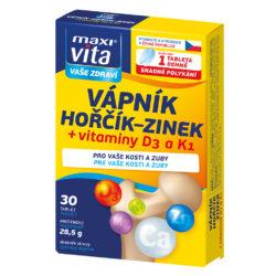 Калций + Магнезий + Цинк + Витамин D3 + Витамин К1