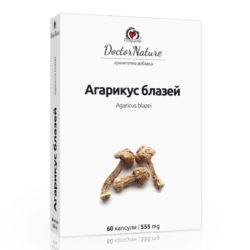 Опаковка на продукта Агарикус блазей, Agaricus Bazei
