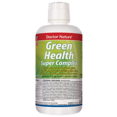 супер комплекс зелено здраве