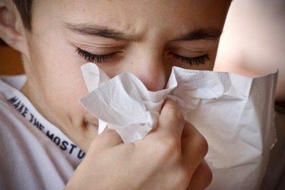 при грип и настинка