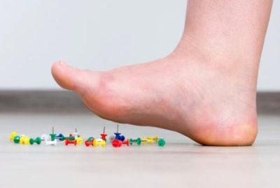 подуване на краката