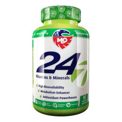 Изглед на опаковката на продукта Витамини 24/7 Витамин D3, селен, цинк и витамин С